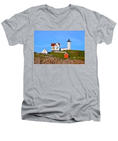 Nuble Light Men's V-Neck T-Shirt