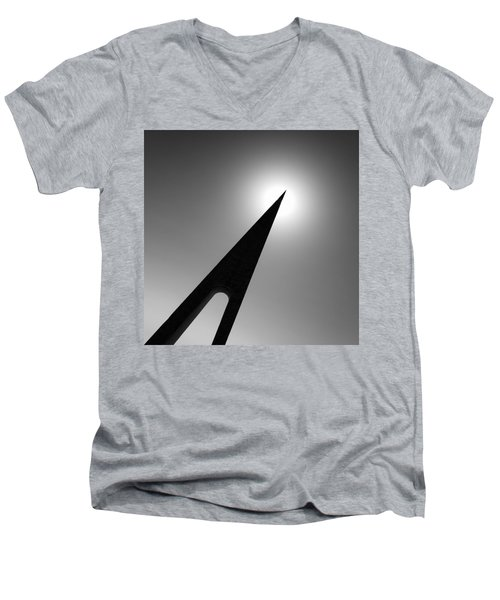 Nungesser And Coli Monument Men's V-Neck T-Shirt