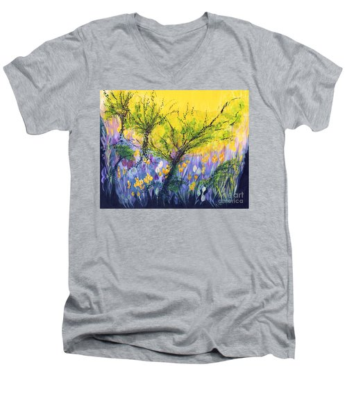 O Trees Men's V-Neck T-Shirt