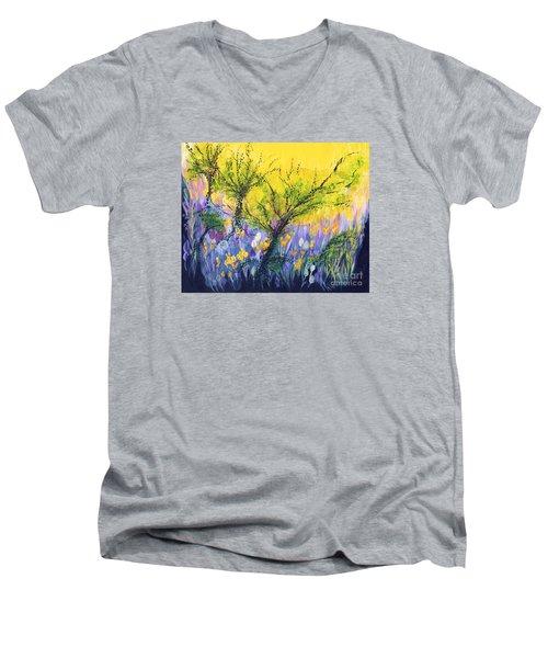 O Trees Men's V-Neck T-Shirt