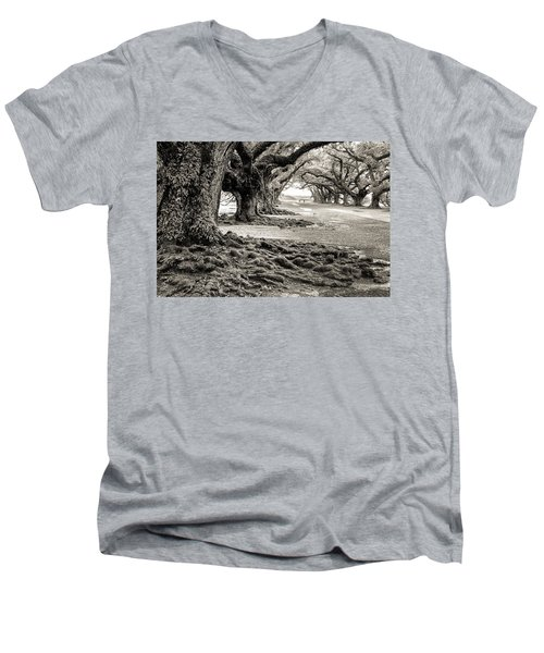 Oak Alley Men's V-Neck T-Shirt