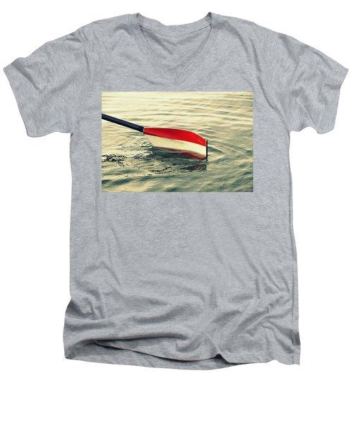 Oar Men's V-Neck T-Shirt