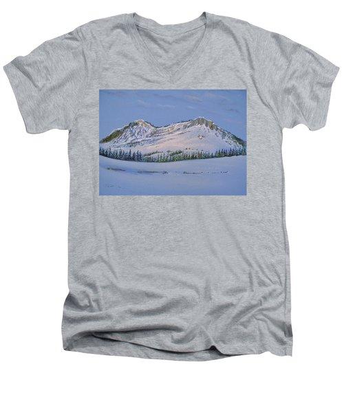 Observation Peak Men's V-Neck T-Shirt