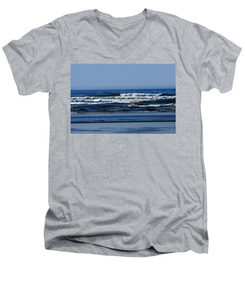 Ocean Blue Men's V-Neck T-Shirt