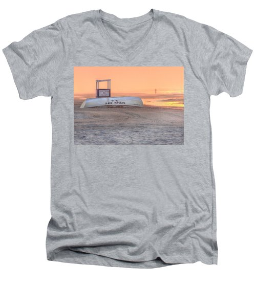 Ocean City Beach Patrol Men's V-Neck T-Shirt