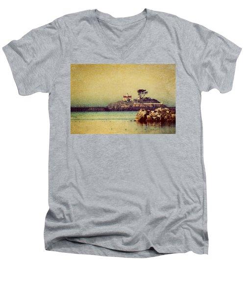Ocean Dreams Men's V-Neck T-Shirt by Melanie Lankford Photography