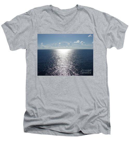 Ocean Horizon Men's V-Neck T-Shirt