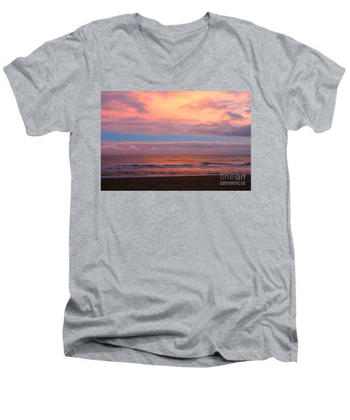 Ocean Sunset Men's V-Neck T-Shirt
