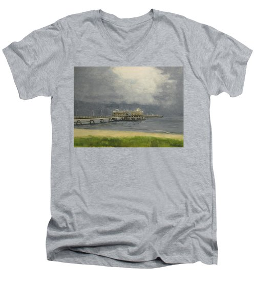 Ocean View Pier Men's V-Neck T-Shirt