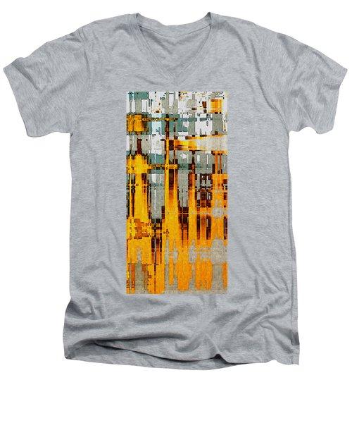 Ochre Urbanity Men's V-Neck T-Shirt