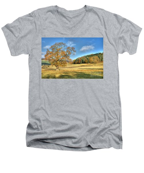 October Gold Men's V-Neck T-Shirt
