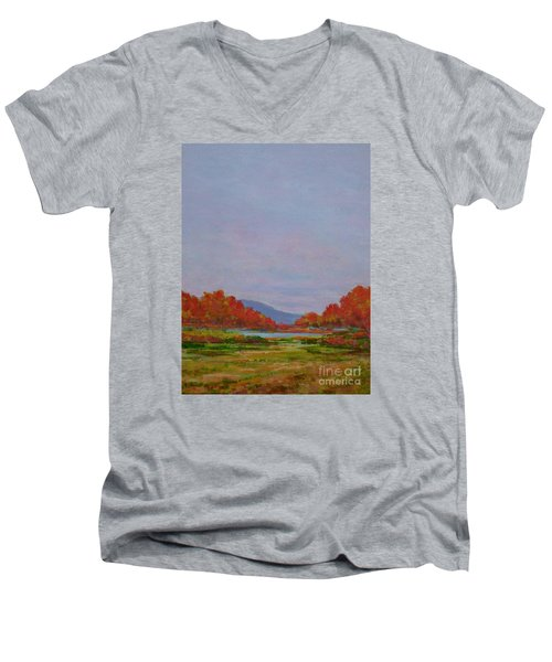 October Morning Men's V-Neck T-Shirt