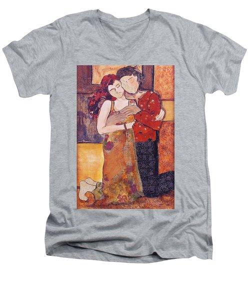 Ode To Klimt Men's V-Neck T-Shirt