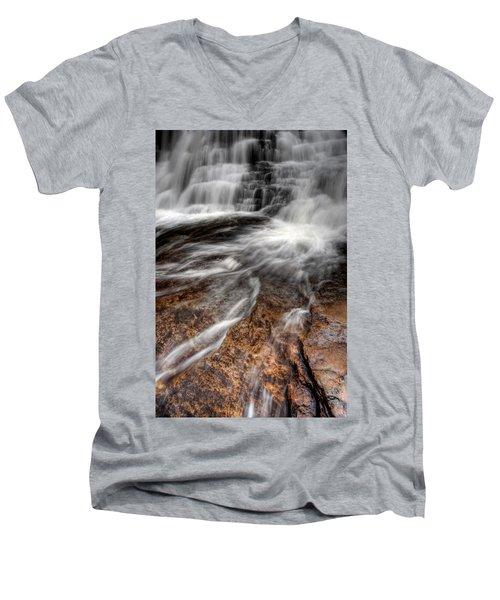 Off And Running Men's V-Neck T-Shirt