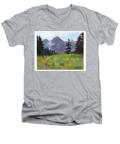 Off The Trail 2 Men's V-Neck T-Shirt