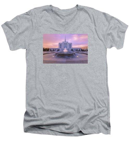 Ogden Temple I Men's V-Neck T-Shirt