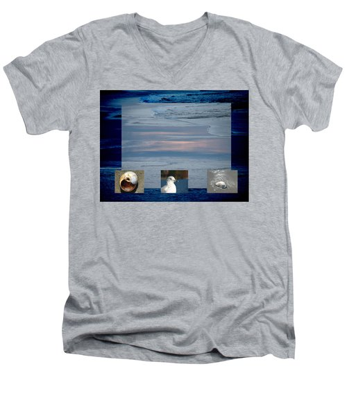 Ogunquit Beach Men's V-Neck T-Shirt