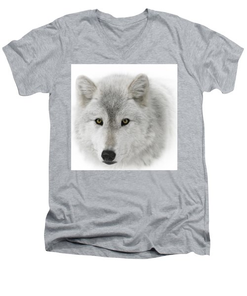 Oh Those Eyes Men's V-Neck T-Shirt by Wes and Dotty Weber