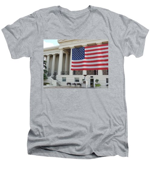 Ol' Glory Men's V-Neck T-Shirt