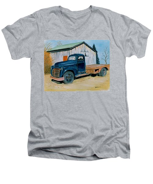 Old Blue Men's V-Neck T-Shirt