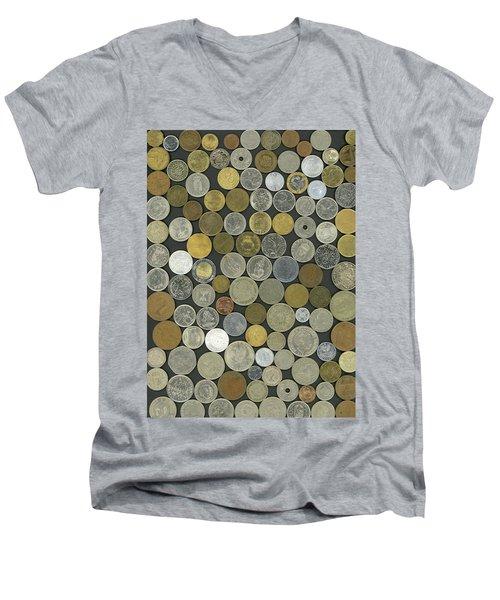 Old Coins Men's V-Neck T-Shirt