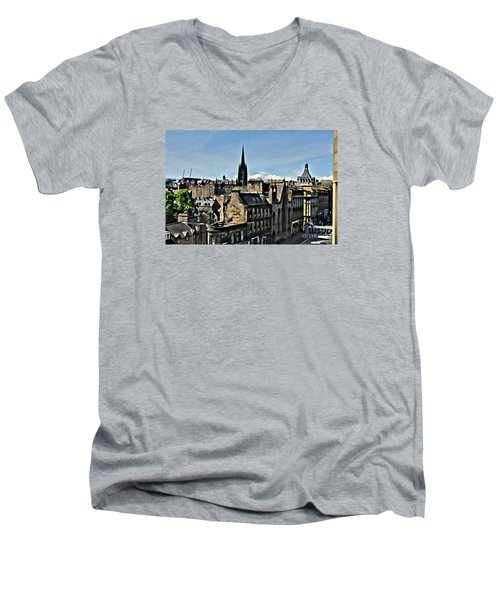 Olde Edinburgh Men's V-Neck T-Shirt
