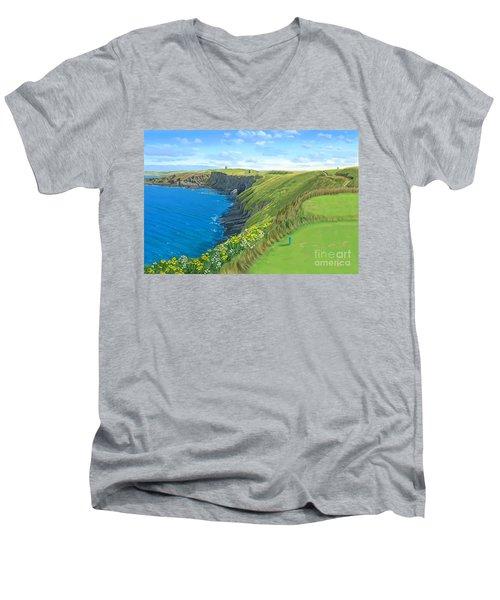Old Head Golf Club Ireland Men's V-Neck T-Shirt