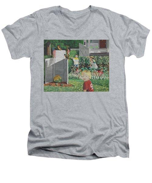 Old Jersey Men's V-Neck T-Shirt