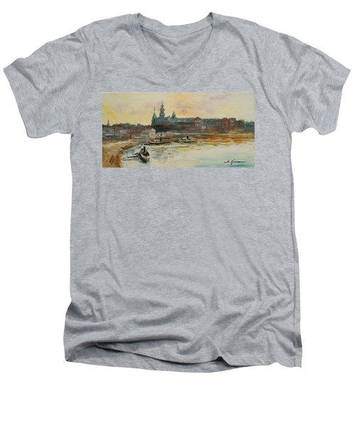 Old Krakow Men's V-Neck T-Shirt