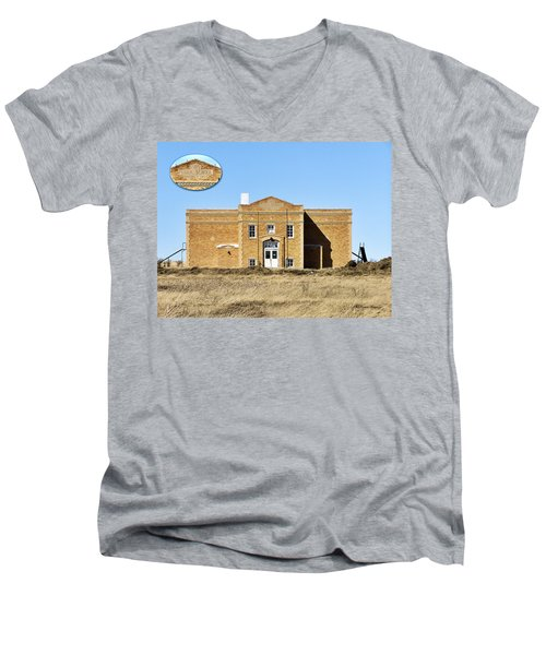Old School Men's V-Neck T-Shirt