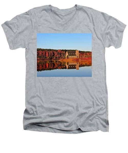 Old Stone Church Men's V-Neck T-Shirt