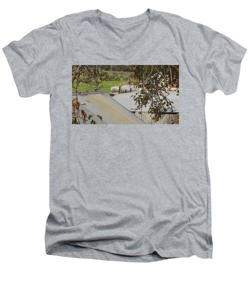 Old Tin Roof  Men's V-Neck T-Shirt