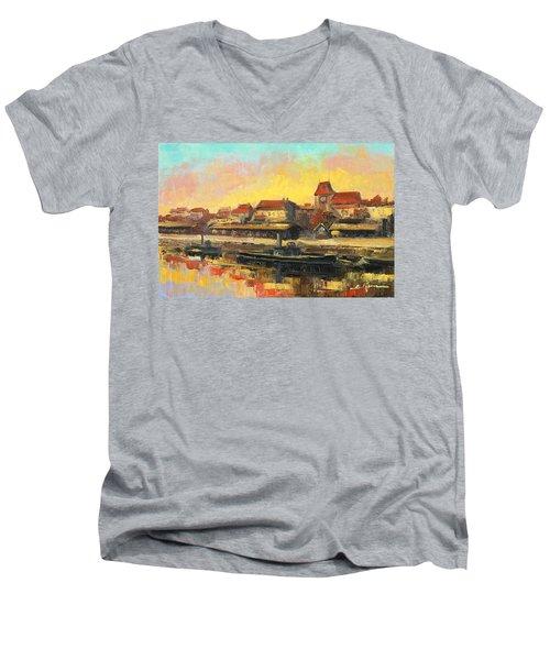 Old Torun Men's V-Neck T-Shirt