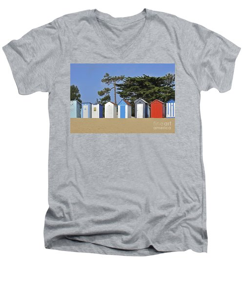 Men's V-Neck T-Shirt featuring the photograph Oleron 6 by Arterra Picture Library