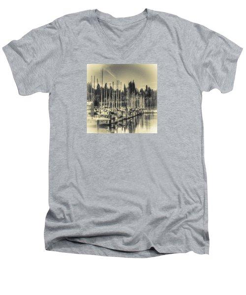 Olympia Marina 1 Men's V-Neck T-Shirt