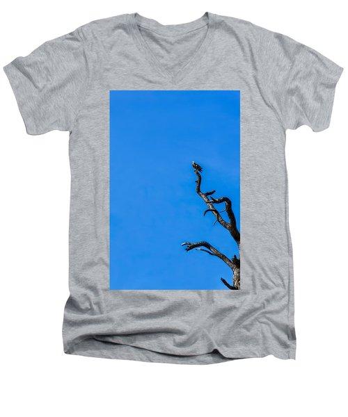 On Point Men's V-Neck T-Shirt