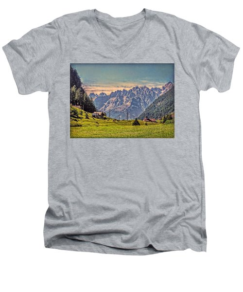 On The Alp Men's V-Neck T-Shirt