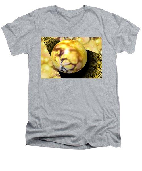 On The Edge Men's V-Neck T-Shirt
