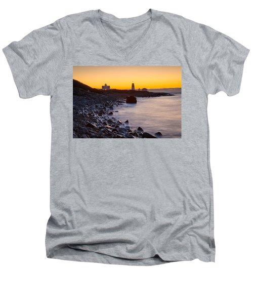 On The Point Men's V-Neck T-Shirt