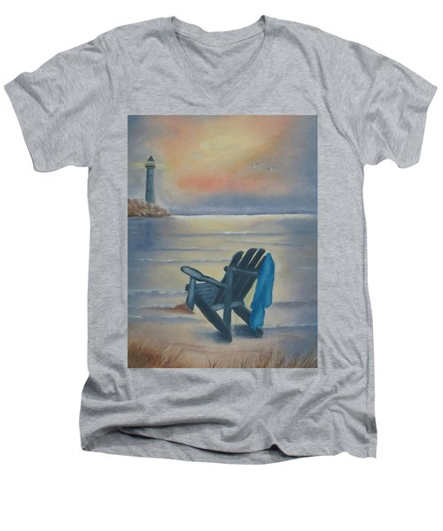 One Is A Lonely Number Men's V-Neck T-Shirt