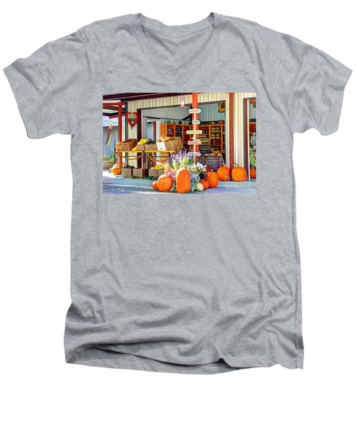 Orchard Valley Market Men's V-Neck T-Shirt