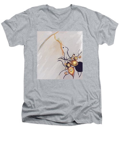 Organic Abstraction Men's V-Neck T-Shirt