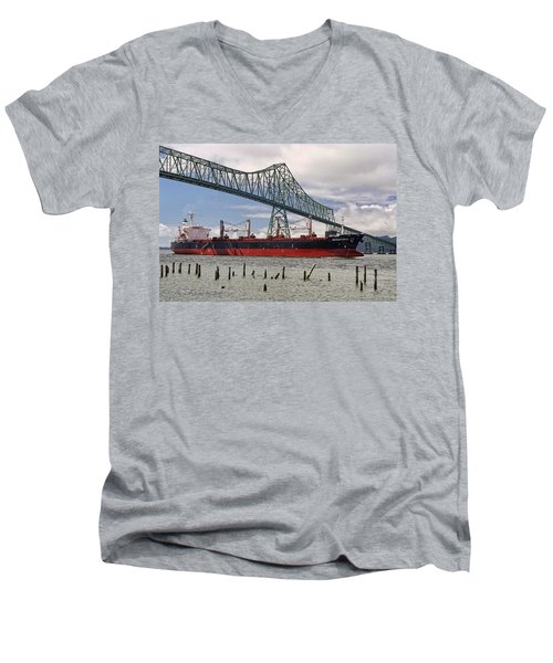 Orientor 2 Men's V-Neck T-Shirt by Wes and Dotty Weber