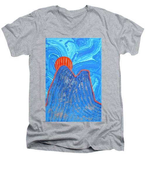 Os Dois Irmaos Original Painting Sold Men's V-Neck T-Shirt