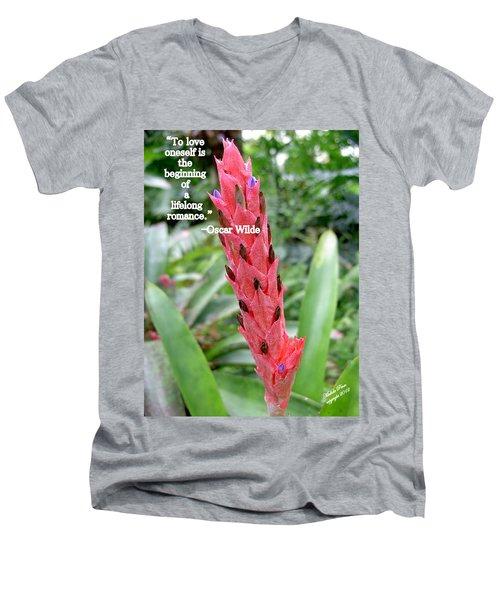 Oscar Wilde Men's V-Neck T-Shirt
