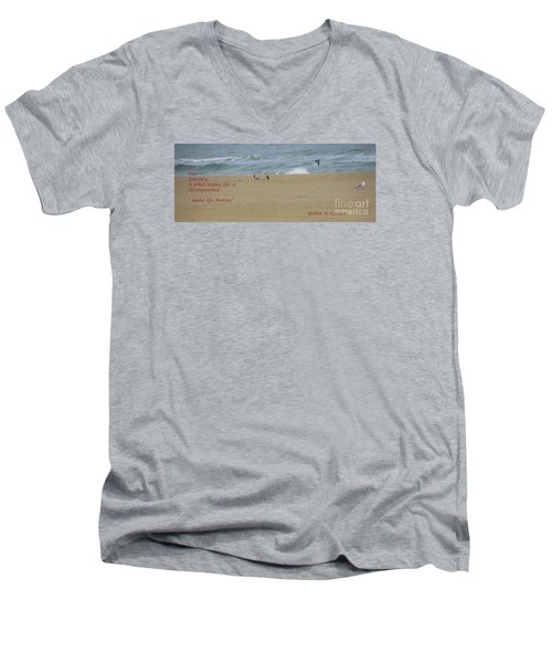 Our Journey  Men's V-Neck T-Shirt