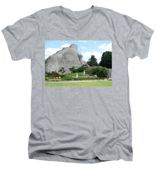 Our Lady Of The Woods Shrine Men's V-Neck T-Shirt