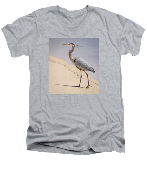 Out For A Stroll Men's V-Neck T-Shirt