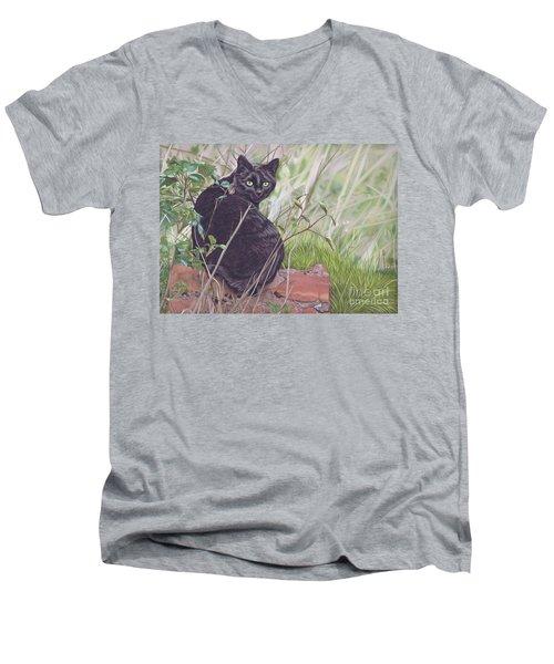 Out Hunting Men's V-Neck T-Shirt