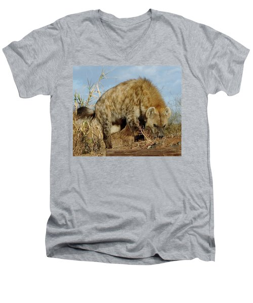 Out Of Africa Hyena 1 Men's V-Neck T-Shirt